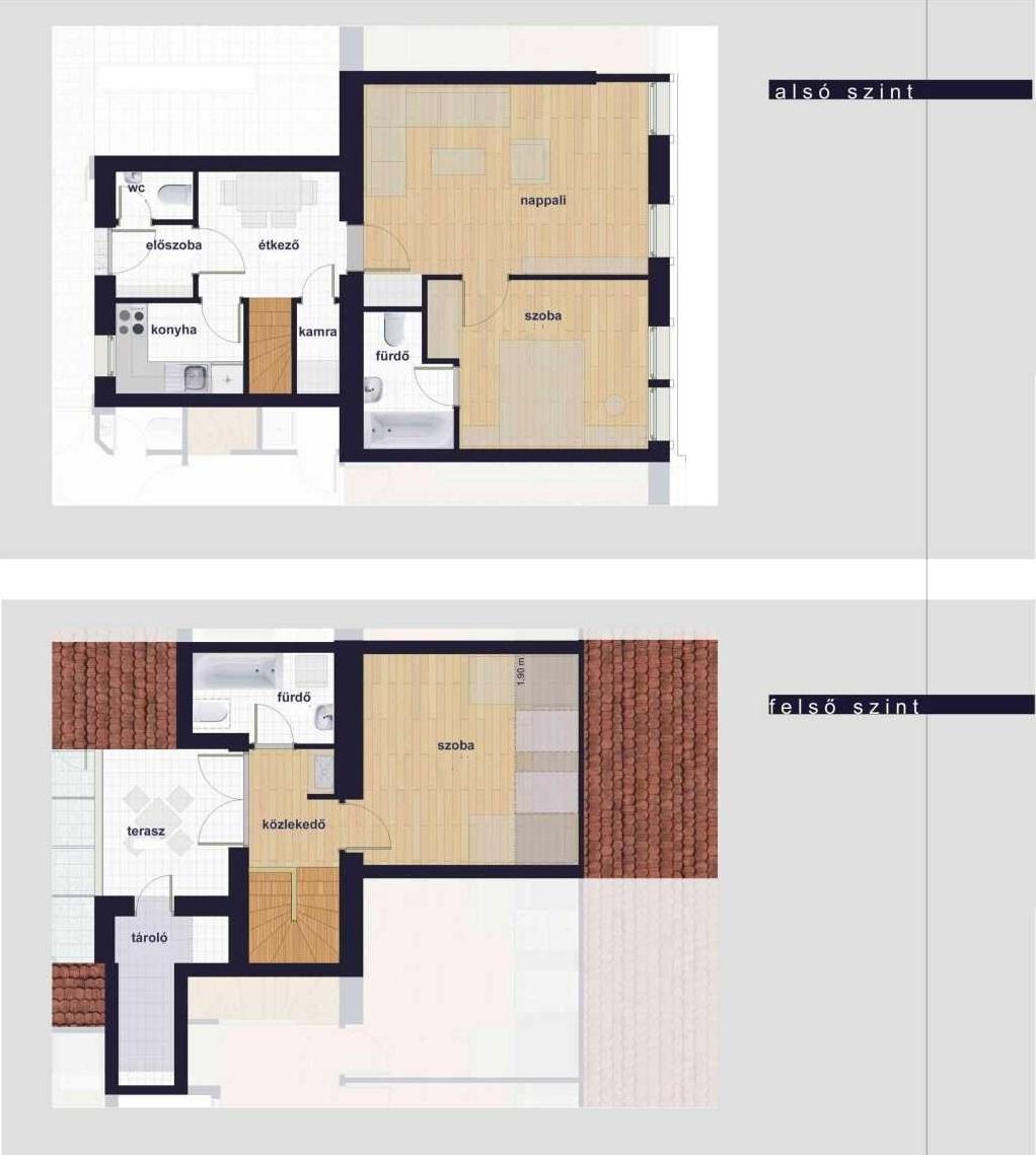Városliget közelében legfelső emelet 10 db lakása egyben eladó!